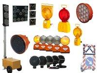Lampy, sygnalizatory drogowe, światła ostrzegawcze