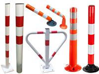 Słupki drogowe, słupki blokujące, słupki elastyczne, blokady parkingowe
