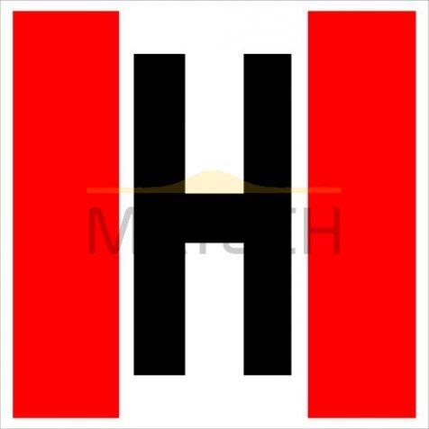 """Tablica """"Hydrant"""""""