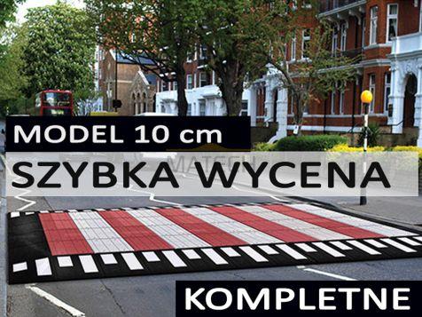 Podwyższone przejście dla pieszych model 10cm - konfigurator