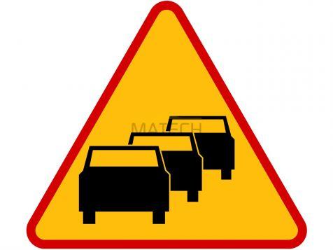 Znak A-33: zator drogowy - I generacja