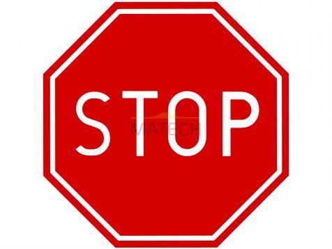 Znak B-20: stop - I generacja