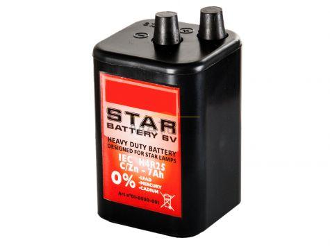 Bateria STAR 6V 7Ah - do lamp ostrzegawczych