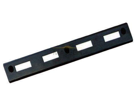 Krawężnik elastyczny (gumowy) - czarny