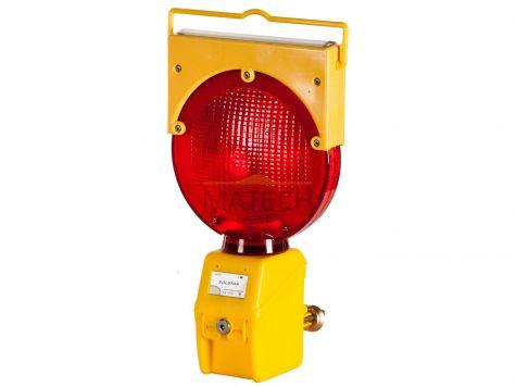 Lampa zmierzchowa SolStar (solarna) - czerwona