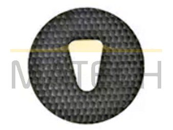 Nakładka antywegetacyjna okrągła fi30 do słupków u-1a
