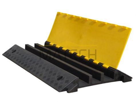 Próg kablowy 3 kanałowy (ochraniacz kabli PCV 900x500 )