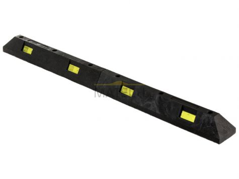 Separator parkingowy B PCV - 1750x145x120 mm czarny