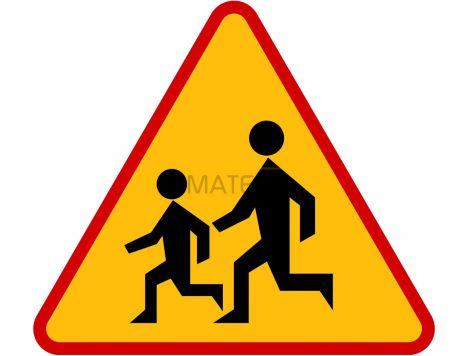 Znak A-17: dzieci - I generacja