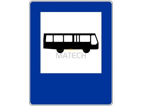 Znak D-15: przystanek autobusowy - I generacja