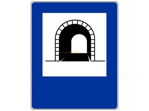 Znak D-37: tunel - I generacja