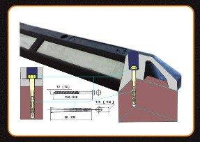 elementy montażowe do separatorów i azyli drogowych