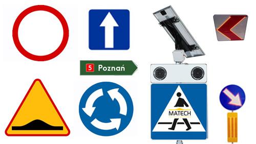 Znaki drogowe, Tablice drogowe