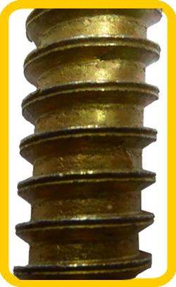 śruby do progów zwalniających podwójnie dzielony gwint trapezowy niesymetryczny