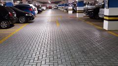Oznakowanie garaży podziemnych i parkingów wielopoziomowych