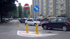 Oznakowanie parkingów i osiedli mieszkaniowych